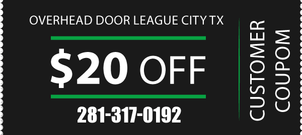 Coupon Overhead Door League City TX
